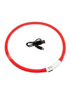 Visio Light LED hundehalsbånd-Rød