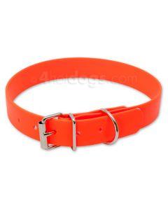 Biothane halsbånd klassisk, -Orange-L