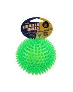 Gorilla Bold til hunde-Grøn-M: Ø:6,5 cm