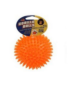 Gorilla Bold til hunde-Orange-M: Ø:6,5 cm