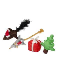 Julelegetøj til kat