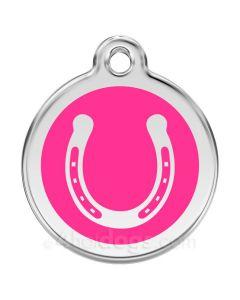 Hestesko medium-Hot pink