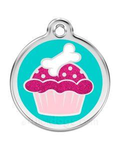 Hundetegn Glimmer - cupcake large