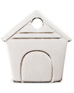 Hundehus small-Rustfrit stål