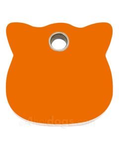 Kattetegn med kattehoved-Orange