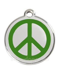 Peacetegn medium-Grøn