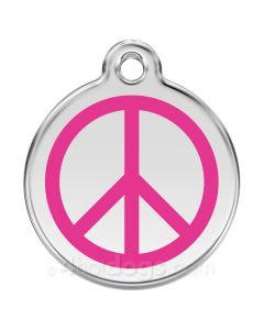 Peacetegn large-Hot pink