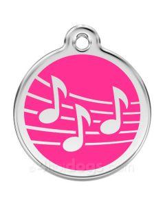 musiktegn medium-Hot pink