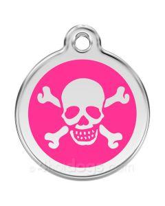 Dødning medium-Hot pink