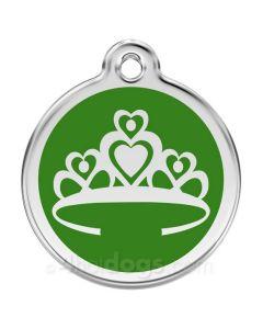 Prinsessekrone large-Grøn