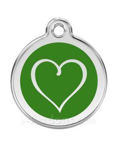 Tribal Hjerte large-Grøn