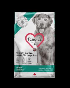 1st Choice vægt kontrol hundefoder, 10 kg.