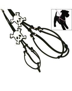 PIRAT step-in læder hundesele