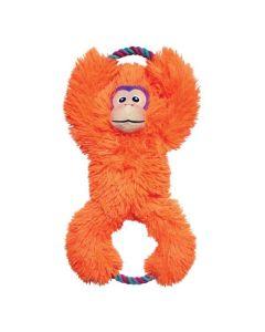 KONG Tuggz abe - hundelegetøj - Orange