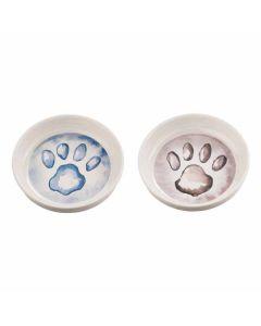 Fint madskåle sæt til små hunde eller den lille hundehvalp