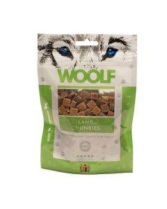 Hundegodbid Woolf Lamb chunkies 100g