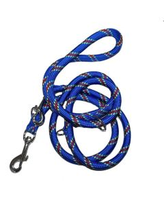 Dressurline i nylon reb-Blå-Ø: 12 mm