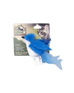 Kattelegetøj Play-N-Squeak -Blå