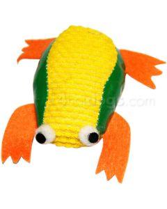 Skælvende frø 7 cm