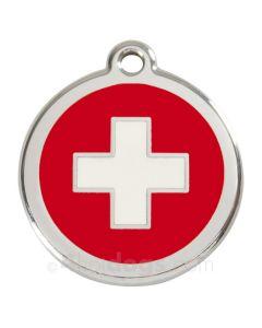 Kattetegn med Swiss Cross