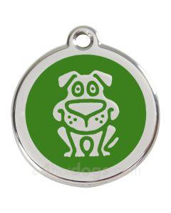 Hund small-Grøn