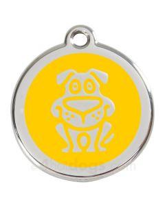 Hund medium-Gul