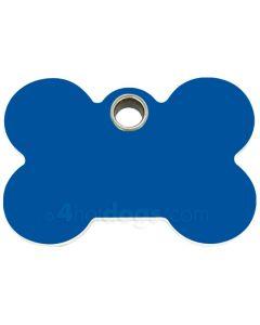 Hundetegn Kødben small 8 forskellige farver-Blå