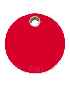 Rundt medium-Rød