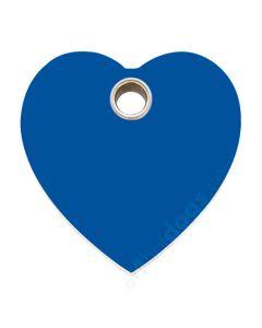 Hjerte medium-Blå