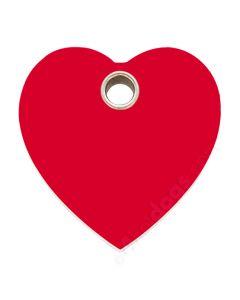 Hjerte medium-Rød