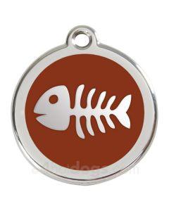 Fiskeben medium-Brun