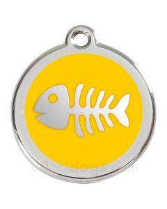 Fiskeben small-Gul