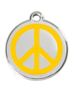Peacetegn medium-Gul