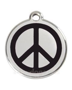 Peacetegn medium-Sort