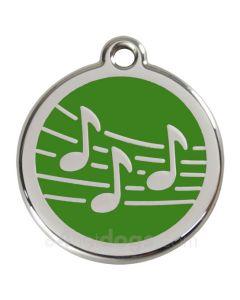 musiktegn medium-Grøn