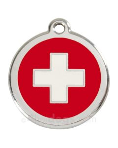 Hundetegn Swiss Cross medium