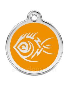 Tribal Fisk small-Orange