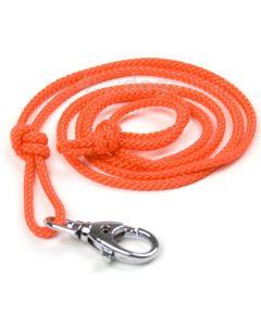 Fløjtesnor med karabinhage i nylon-Orange