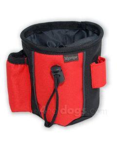 2-farvet Godbidstaske - bæres på 3 måder-S-Sort/rød