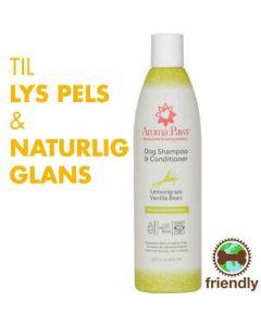 Hundeshampoo 2i1 Vanilje/lemongræs- Miljøven.
