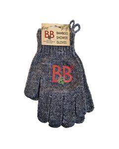 B&B Bambus Shower vaskehandsker