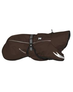 Hurtta Outdoors Torrent regnslag til hund-Brun-Ryg 35 cm