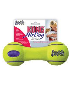 KONG AirDog Squeaker Dumbbell tennisbold