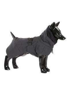 Reflekterende hundevinter jakke sort