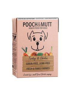 Pooch&Mutt Vådfoder med kalkun og kylling 375g