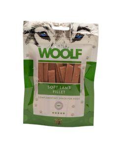 Hundegodbid Woolf blød lammesnack, 100g