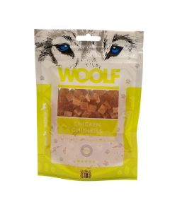 Hundegodbid Woolf chicken chunkies100g