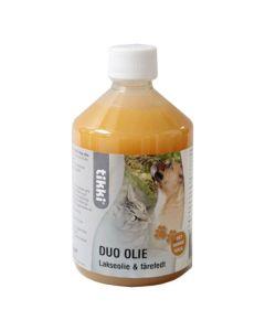 Tikki Duo Olie, Lakseolie & fårefedt, 0,5 liter