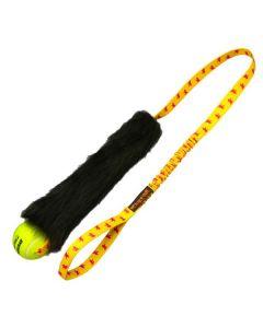 Tug_E_Nuff hundelegetøj med tennisbold